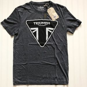 TRIUMPH / Lucky Brand Short Sleeve T! NWTS!   S